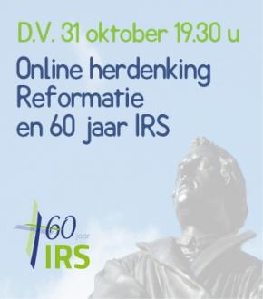 DV. 31 oktober 2020 Hervormingsavond online