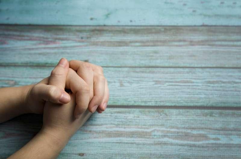 De Heilige Geest bidt